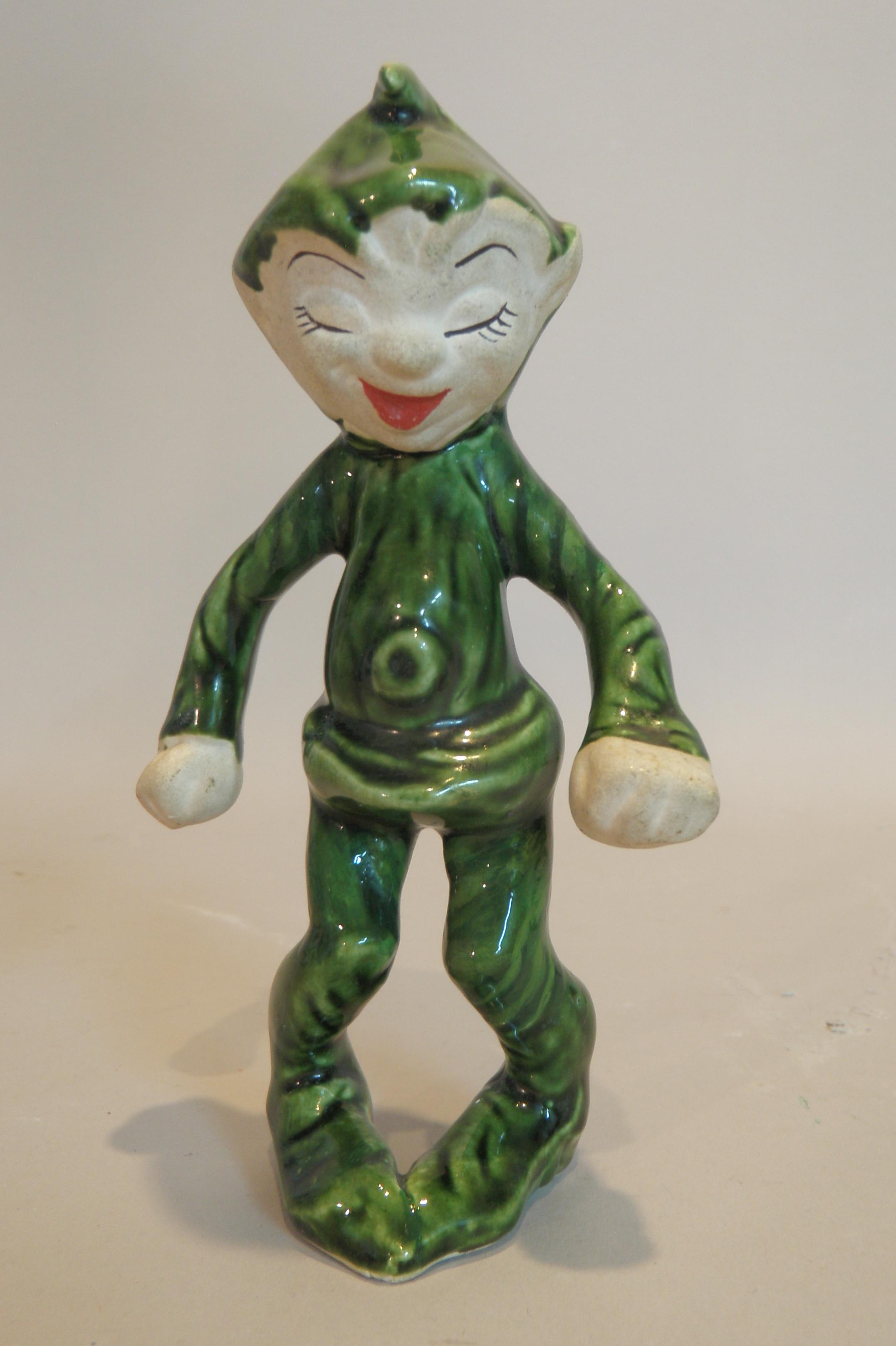 Early 20th c. ceramic leprechaun