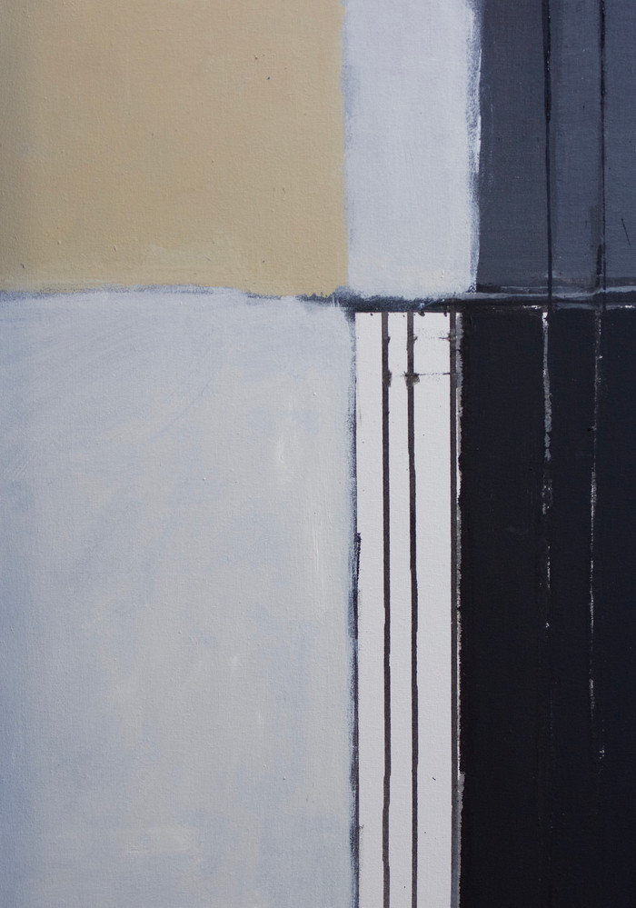 Below | 2016 | Acrylic on canvas | detail