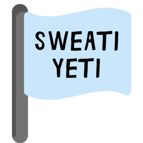 Sweati Yeti Mile Marker