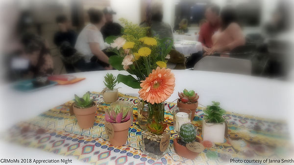flowers and cacti on table