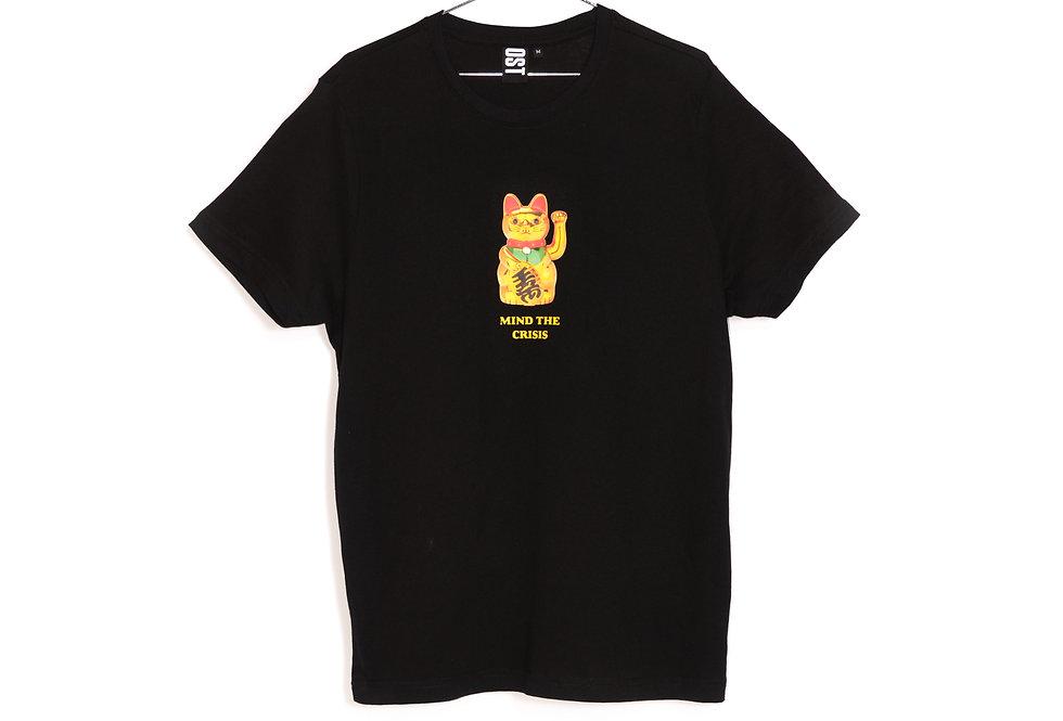 Crisis T-shirt - black