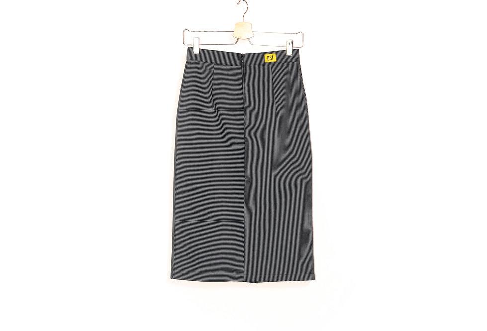 Striped Office Skirt