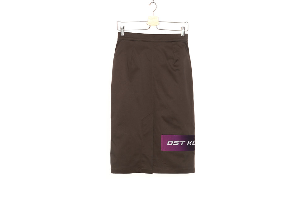 Patch Office Skirt