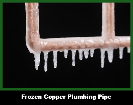We Thaw Frozen pipes