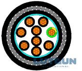 CU/XLPE/LSZH/SWA/LSZH 0.6/1KV 12X11.5+E1.5