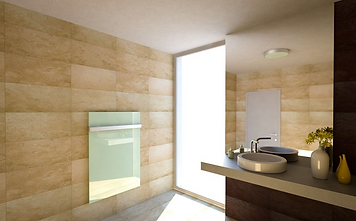 White Infrared Heater Bathroom.png