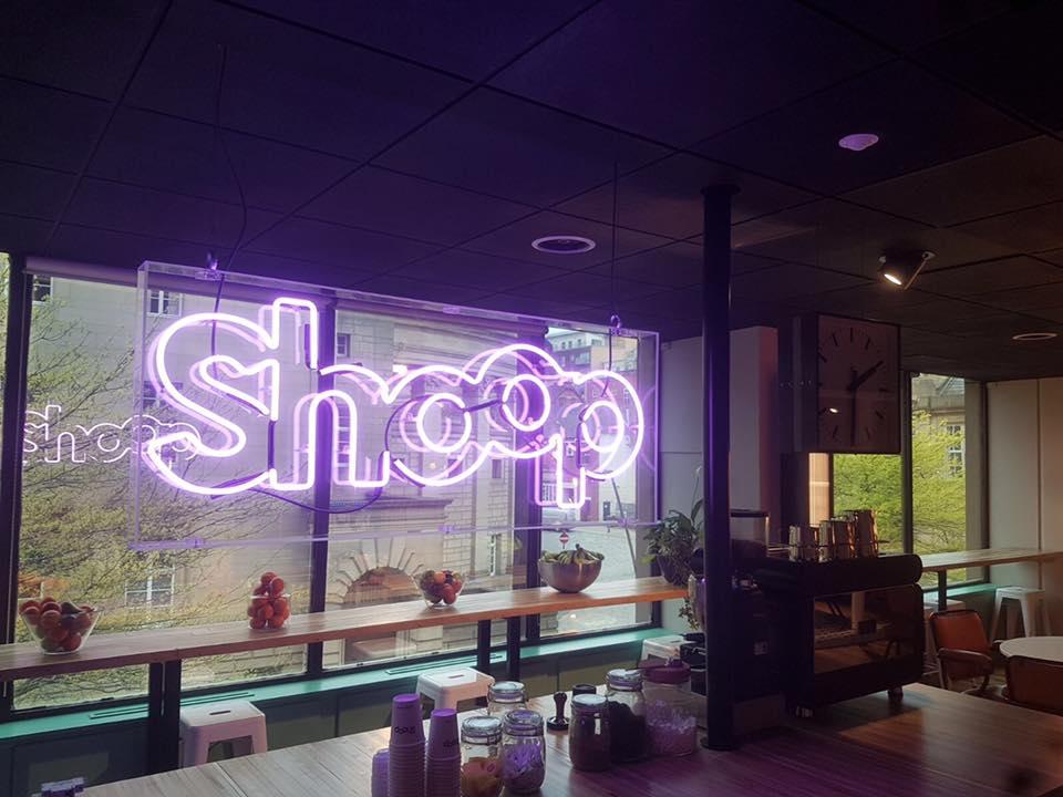 Shop Sign Lighting