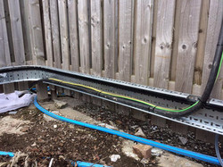 Exterior cable protected