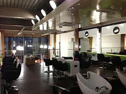 Commercial Salon Installation