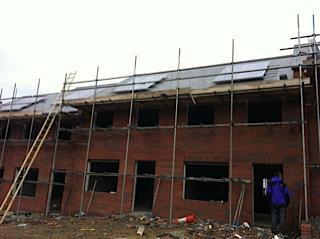 Solar Installation on new build