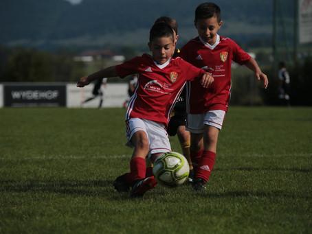 Junioren F Turnier bei strahlendem Sonnenschein