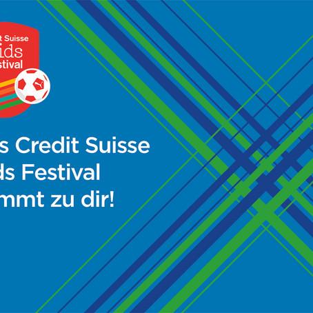 Das Credit Suisse Kids Festival kommt zu dir!