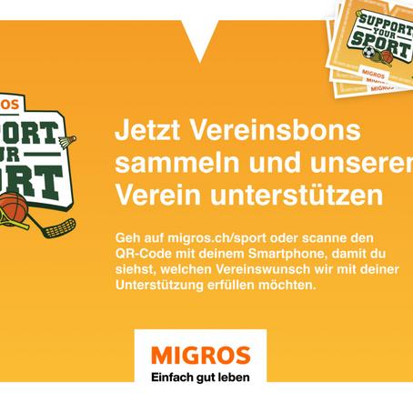 Unterstütze den FC Breitenbach bei der Migros-Förderaktion «Support your Sport»
