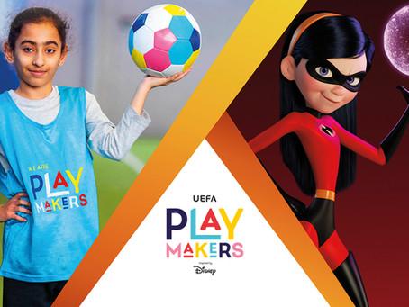Mädchenfussball - UEFA Playmakers