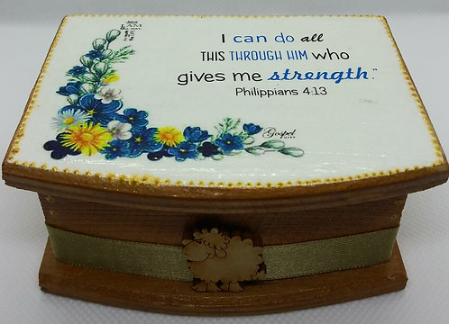 422 Bilingual scripture cards in box-Christian gift