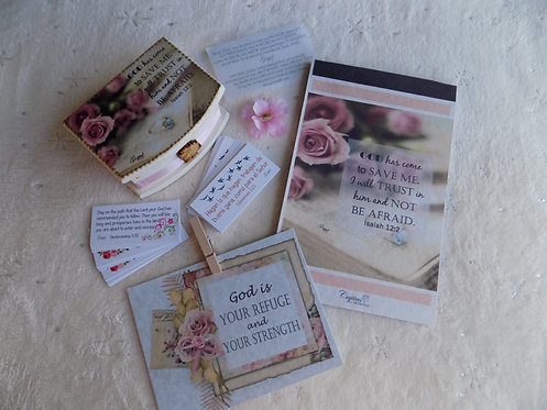 404 Simple Encouragement Gift Set with notepad/ Thinking of You Gift