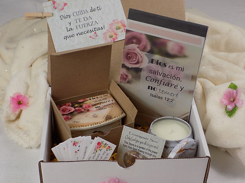 504 Spanish Encouragement Gift Box, Inspirational and Blessing Gift