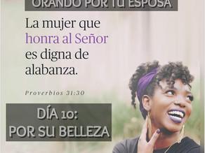 DEVOCIONAL PARA HOMBRES: ORANDO POR TU ESPOSA, Día 10: SU BELLEZA