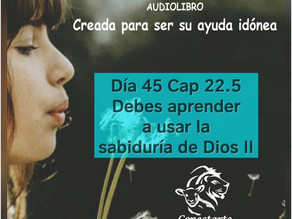 Día 45: Debes aprender a usar la sabiduria de Dios II !