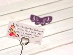 Día 6:Si buscas al Señor tu Dios con todo tu corazón y con toda tu alma, lo encontrarás. Dtn 4:29