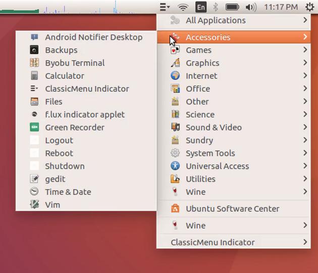 Activate Application menu in Ubuntu | Install On Ubuntu