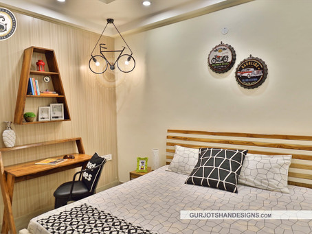 CHIC BEDROOM DESIGN DONE UP IN TRENDY GOOD VIBES