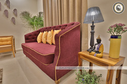Drawing Room Design - Custom Sofa