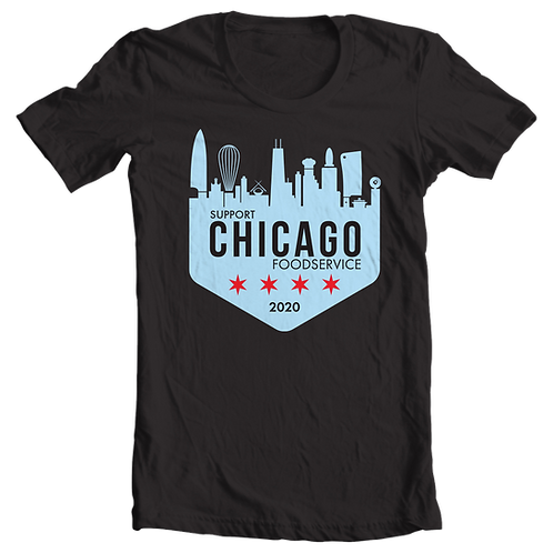 SUPPORT CHICAGO FOODSERVICE TEE