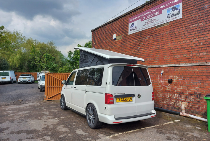 Prize Mob competition VW T6 Halifax camp