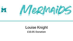 Mermaids Louise Knight  £10.95 donation