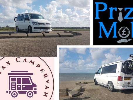 Win Weekend away VW camper for 4 people.