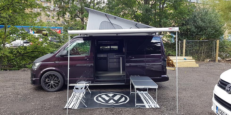 VW T6 campervan from Halifax Campervan Hire £1.99