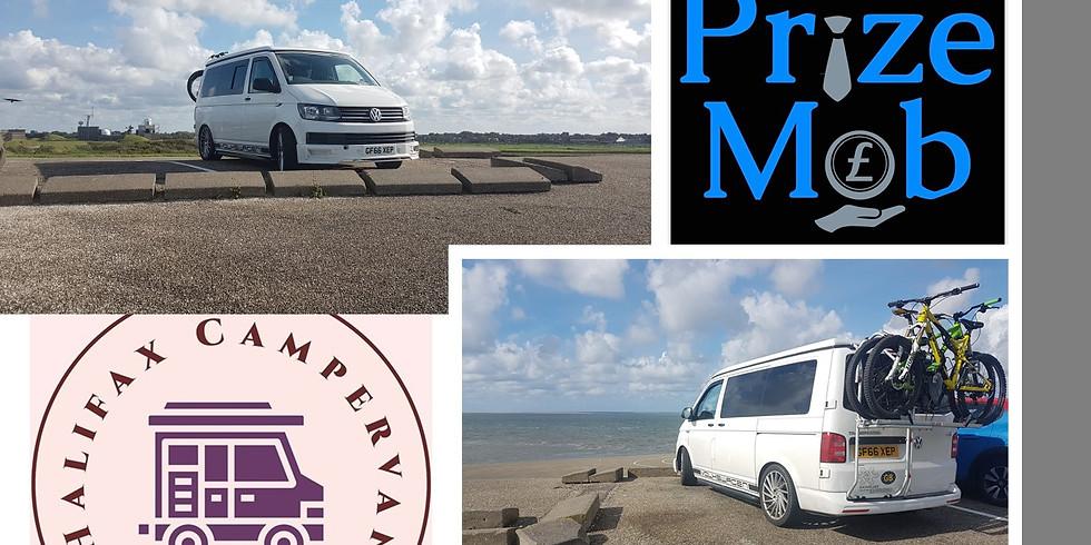 VW T6 Campervan Hire Prize Giveaway 🚐 £2.99
