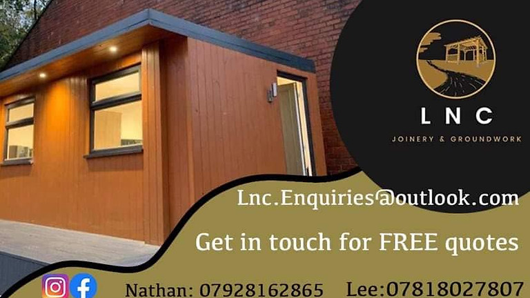 Home, Garden improvement worth £5000 from LNC joinery & groundwork