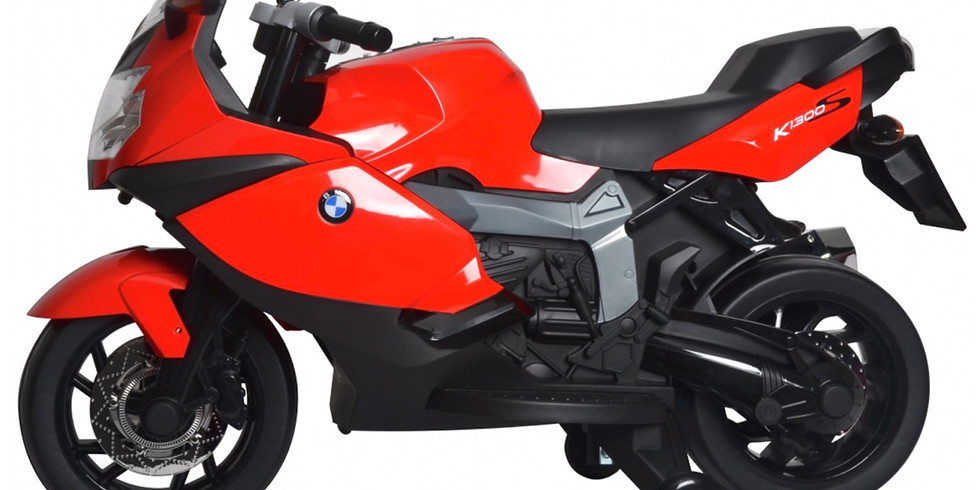 Win a brand new unboxed BMW K1300S Bike Electric Ride On - 12v