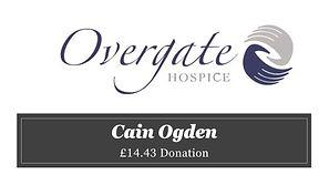 Cain Ogden Overgate Hospice  £14.43