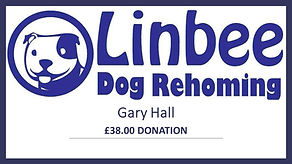 Prize Mob winner Gary Hall Linbee dog rehoming £38 donation