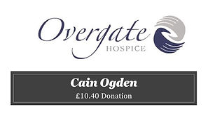 Cain Ogden Overgate Hospice £10.40