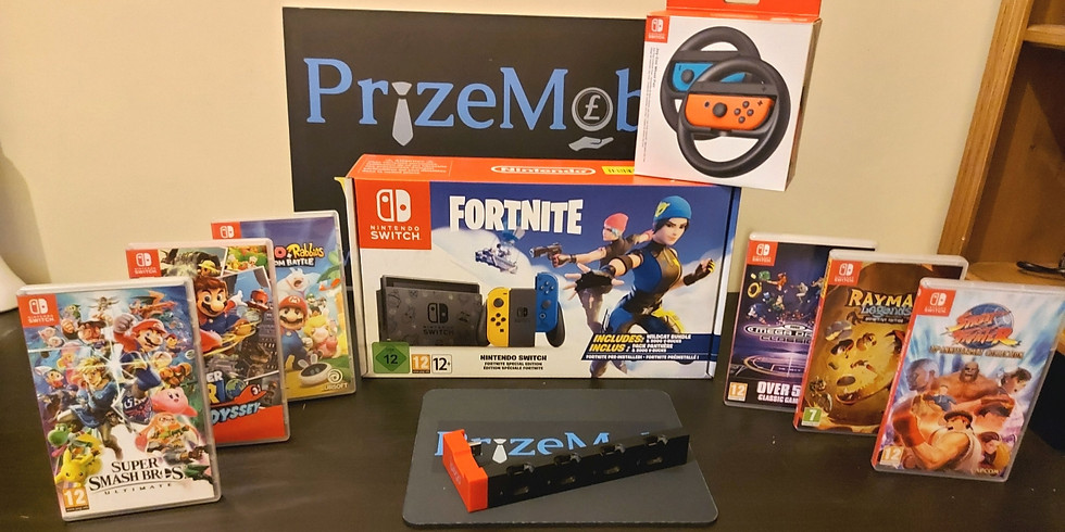 Brand new boxed Fortnite Nintendo Switch with 6 games and accessories  £2.49