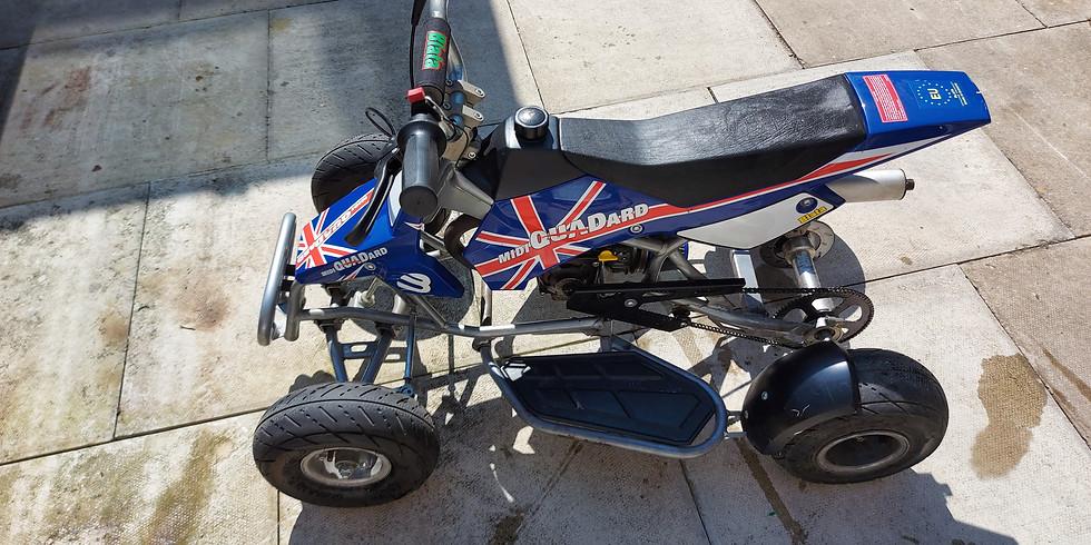 Rare limited edition Blata midi fast racing quadard 50cc