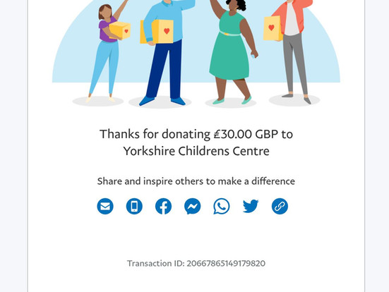 Thank you to everyone who took part