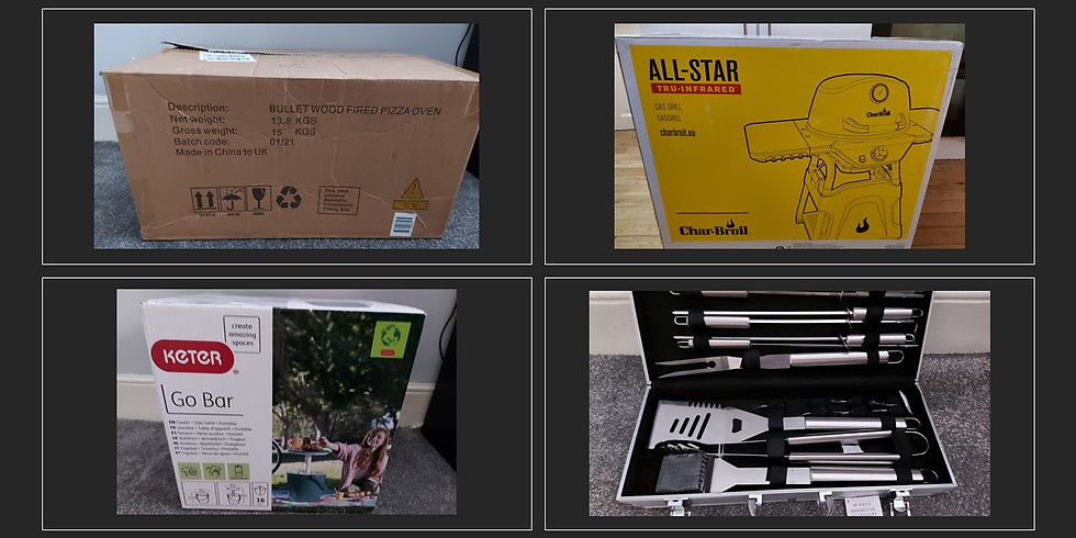 Summer Garden Bundle Inc Char-Broil All-star 125 Gas Barbecue Grill