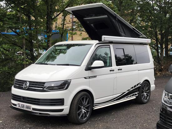 Win a weekend away in a VW T6 camper