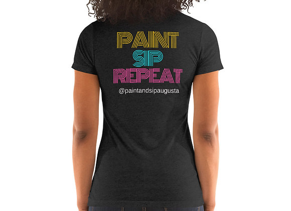 T-Shirt - Paint Sip Repeat