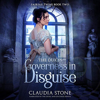 The Duke's Governess in Disguise, Fairfax Twins Book Two