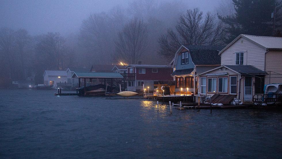 Bayside fog