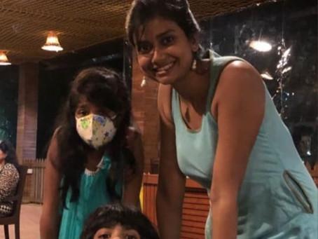 Kasturi Sen, mom of twins, Mumbai.