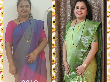 Vinaya Rahalkar, mother from Qatar