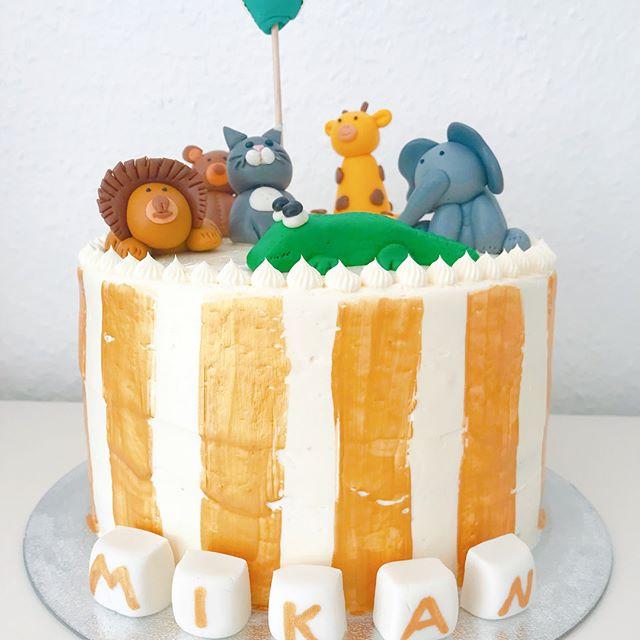 Animal #cake ☝🏻 happy Birthday 🎈.jpg