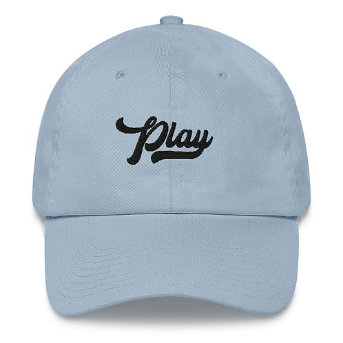 Play Dad Hat - Light Blue